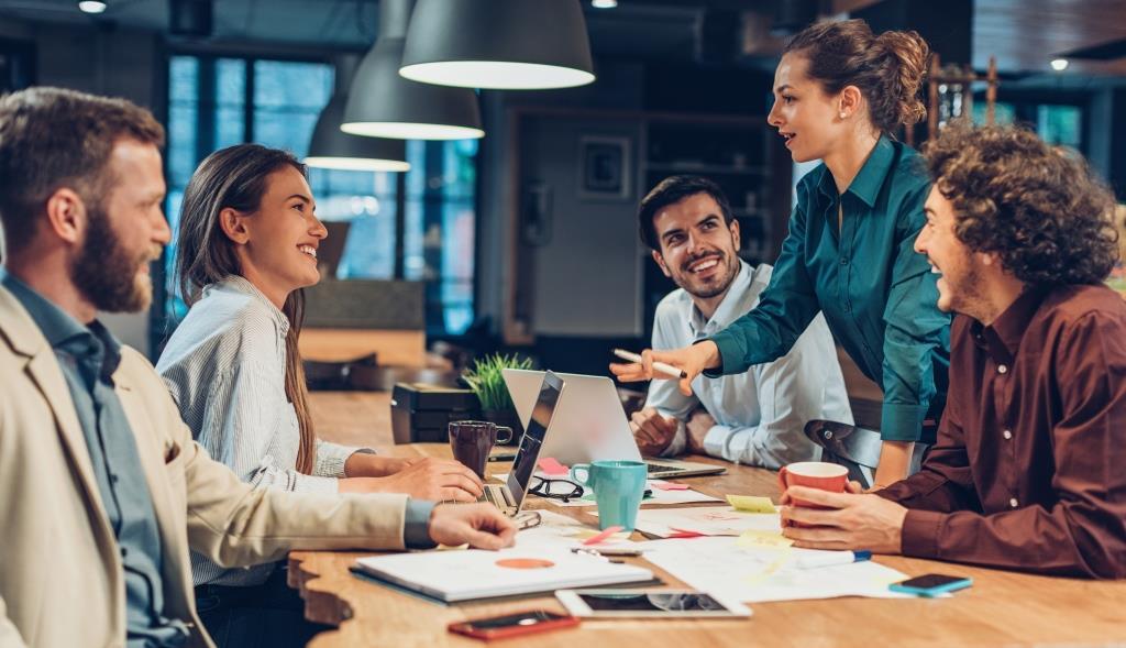 Mitarbeiter Motivation und Engagement